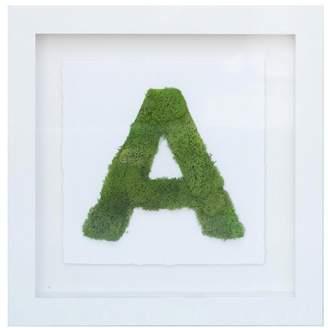Oliver Gal The Letter Nature 3D Live Art, Green
