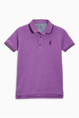 Next Boys Green Polo T-Shirt (3-16yrs)