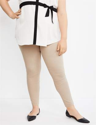 Motherhood Maternity Plus Size Secret Fit Belly Skinny Leg Ankle Maternity Pants