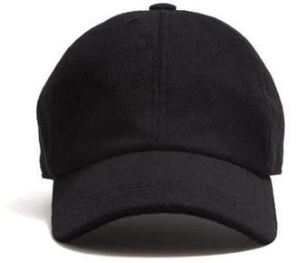Lock & Co Hatters Lock & Co. Rimini Wool/Alpaca Dad Hat in Black