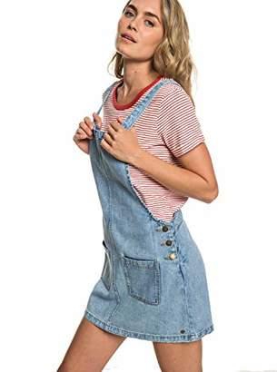 Roxy Junior's Love to Travel Denim Jumper Dress