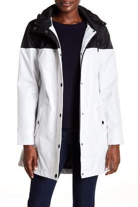 UGG Waterproof Bonded Twill Hooded Coat