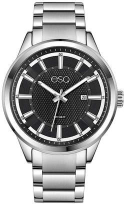 ESQ Mens Silver Tone Bracelet Watch-37esq017001a