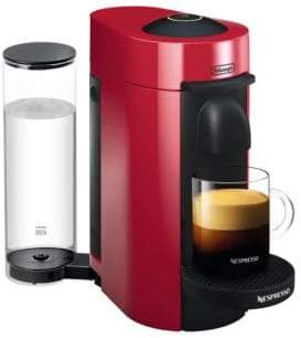 Nespresso by Delonghi Vertuo Plus Coffee and Espresso Single-Serve Machine