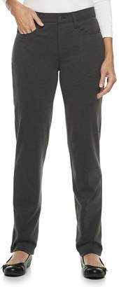 Croft & Barrow Women's Easy Care Straight-Leg Pants