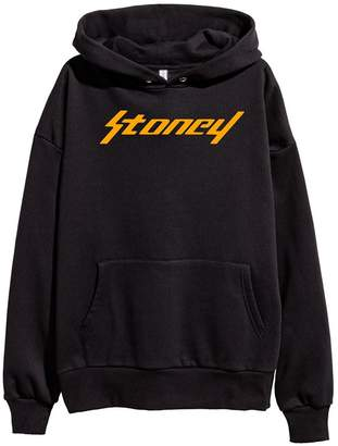 DhoomBros Post Malone Stoney Logo Hoodie Sweatshirt (XL, )