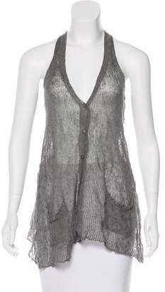 Eileen Fisher Sheer Knit Vest