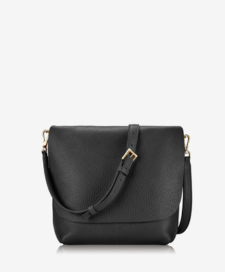 GiGi New York Andie Crossbody, Black Napa Luxe