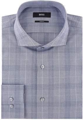 HUGO BOSS Check Print Shirt