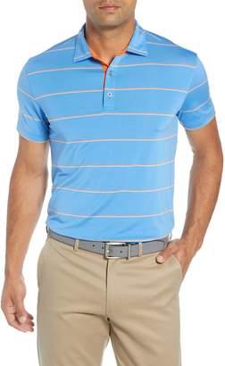 Bobby Jones Rule 18 Alliance Stripe Tech Polo