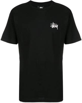 Stussy logo patch T-shirt