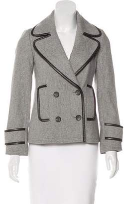 Club Monaco Wool Structured Jacket