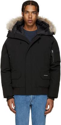 Canada Goose Black Down Chilliwack Coat $750 thestylecure.com