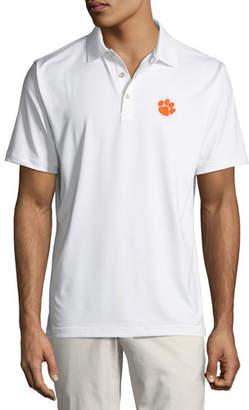 Peter Millar Men's Clemson University Solid Polo Shirt