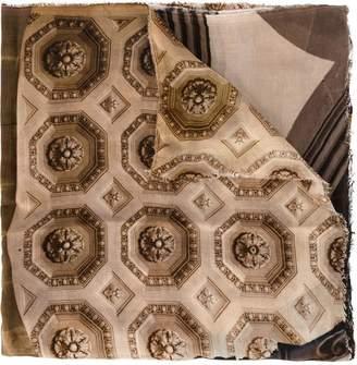 Faliero Sarti printed square scarf