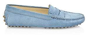Tod's Women's Gommini Suede Driving Shoes