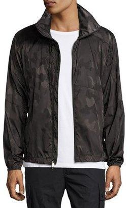 Ralph Lauren Nylon Camo Track Jacket, Dark Green $1,495 thestylecure.com
