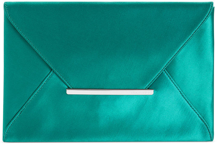BCBGMAXAZRIA Handbag, Harlow Satin Envelope Clutch