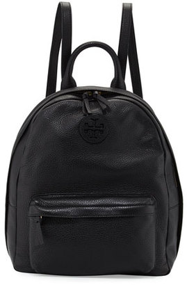 Tory Burch Zip-Around Leather Backpack, Black $395 thestylecure.com