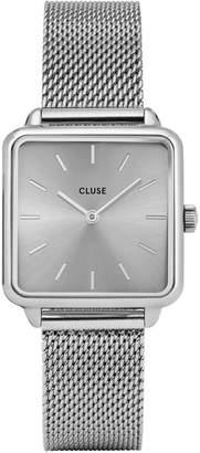 Cluse La Tetragone CL60012 Stainless Steel Mesh-Bracelet Watch
