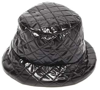 Reinhard Plank Hats - Out Quilted Pvc Bucket Hat - Womens - Black