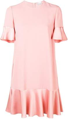 RED Valentino ruffled hem dress