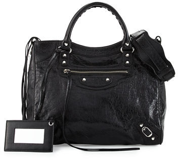Balenciaga  Balenciaga Metallic Edge Classic City Bag