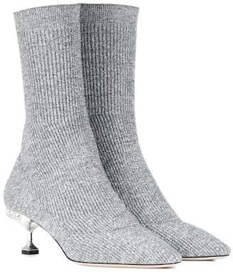 Miu Miu Kitten-heel ankle boots