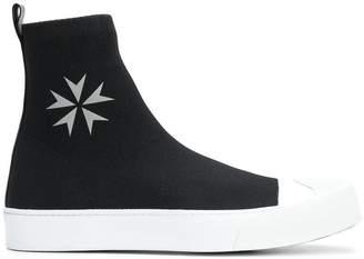 Neil Barrett military star sneakers
