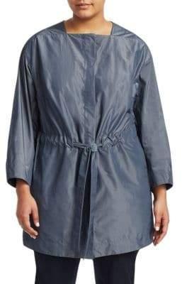 Lafayette 148 New York Lafayette 148 New York, Plus Size Stephania Tie-Waist Jacket