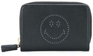 Anya Hindmarch Smiley zip around wallet