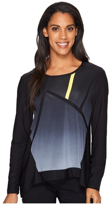 Jamie Sadock - Long Sleeve Top Women's Long Sleeve Pullover $95 thestylecure.com