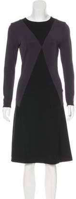 Stella McCartney Colorblock Evening Dress