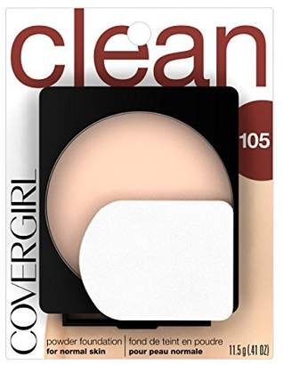 Cover Girl Simply Powder Foundation Ivory(N) 505, 0.41-Ounce Compact by