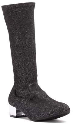 Harper Canyon Romy Glittery To-The-Knee Sock Boot (Little Kid & Big Kid)