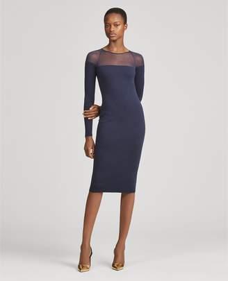Ralph Lauren Wool Crewneck Dress