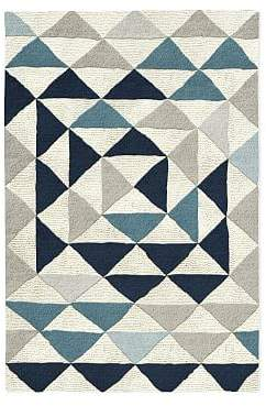west elm Framed Triangles Special Order Wool Rug (30-Day Delivery)