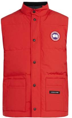 Canada Goose Freestyle Crew Quilted Down Gilet - Mens - Red