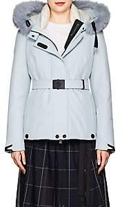 Moncler Women's Laplance Tech-Canvas Coat - Lt. Blue
