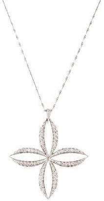 Mizuki 18K Diamond Pendant Necklace