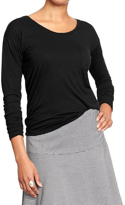 Old Navy Women's Pocket-Front Cropped Tees