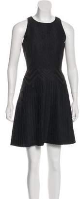 Cushnie Sleeveless A-Line Dress