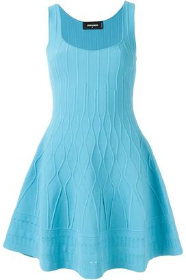 Dsquared2 flared sleeveless dress $1,985 thestylecure.com