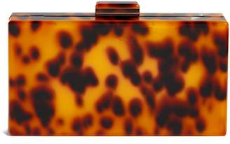 Like Dreams Pia Faux Tortoiseshell Box Clutch