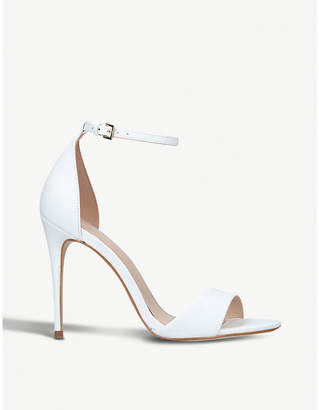 Carvela Glimmer leather heeled sandals