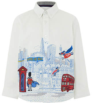 Monsoon Leon City Scene Long Sleeve Shirt