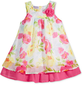 Blueberi Boulevard Floral-Print Chiffon Dress, Baby Girls (0-24 months) $36 thestylecure.com