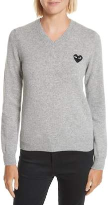 Comme des Garcons Heart Wool Pullover