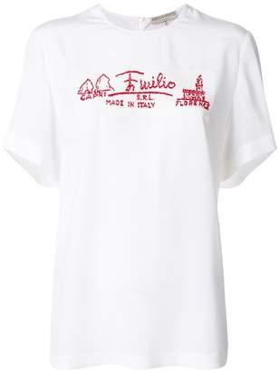 Emilio Pucci casual slogan T-shirt