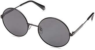 Polaroid Sunglasses Women's Pld4052s Polarized Oval Sunglasses